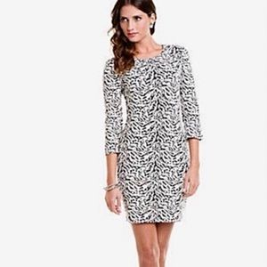 W118 Walter Baker 🦓Textured Sweater Sheath Dress